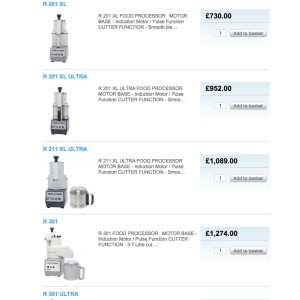 Buy Robot Coupe Machines online - Food Processors